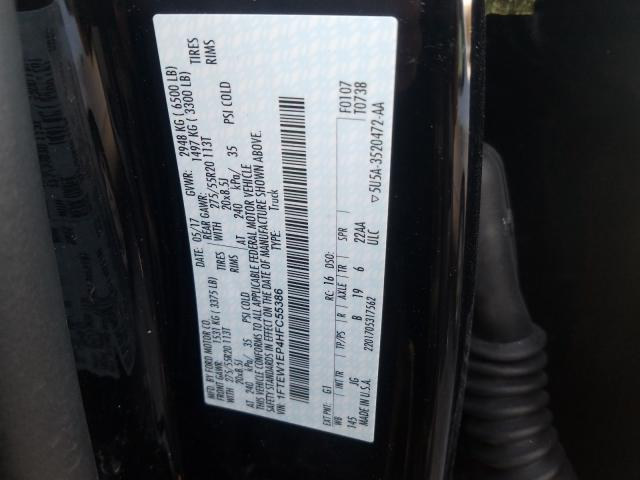 2017 Ford  | Vin: 1FTEW1EP4HFC55386