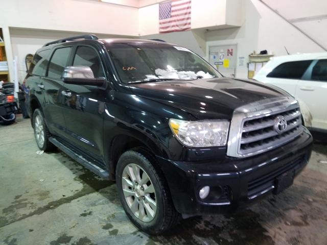 Salvage cars for sale from Copart Greenwood, NE: 2012 Toyota Sequoia PL