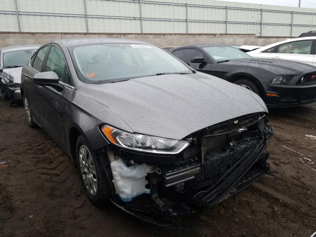 Salvage cars for sale from Copart Albuquerque, NM: 2013 Ford Fusion S