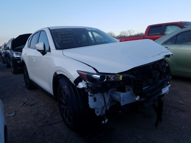 Mazda CX-5 Touring salvage cars for sale: 2018 Mazda CX-5 Touring