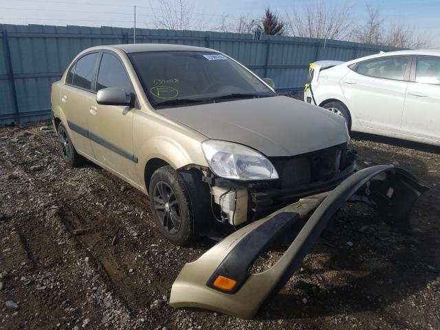 Salvage cars for sale from Copart Kansas City, KS: 2009 KIA Rio Base