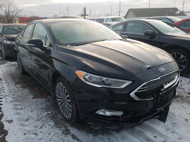 2017 Ford Fusion SE for sale in Hammond, IN