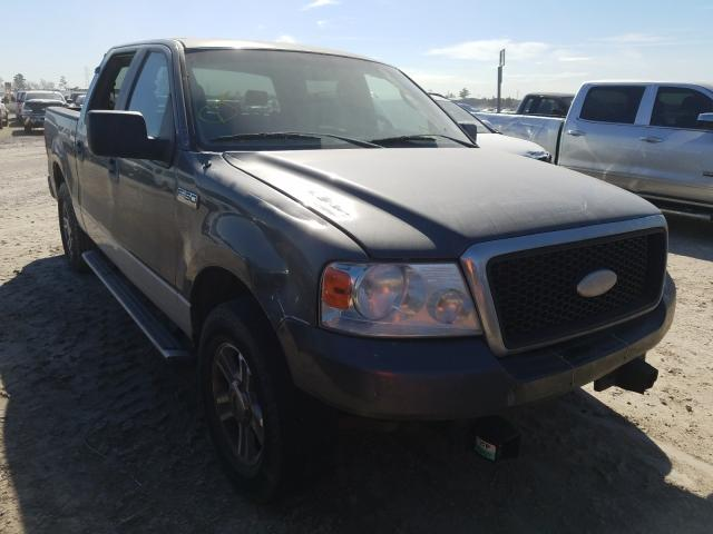 Salvage cars for sale at Houston, TX auction: 2007 Ford F150 Super