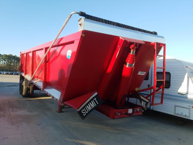 Trail King salvage cars for sale: 2019 Trail King Dump Trailer