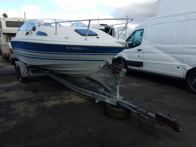 Salvage cars for sale from Copart Wilmington, CA: 1987 Bayliner Boat