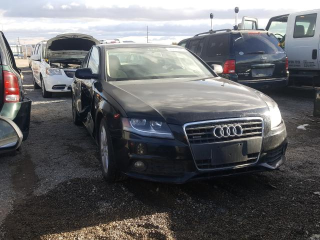 Salvage cars for sale from Copart Reno, NV: 2010 Audi A4 Premium