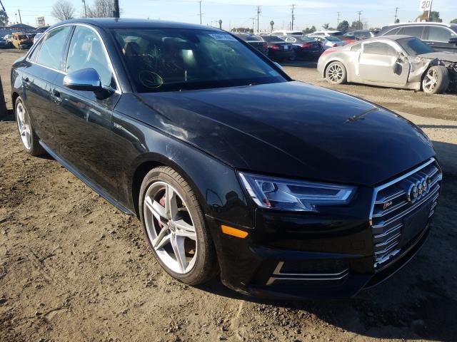 Salvage 2018 Audi S4 PRESTIGE for sale