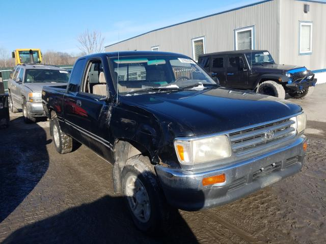 Salvage cars for sale from Copart Duryea, PA: 1997 Toyota T100 Xtrac