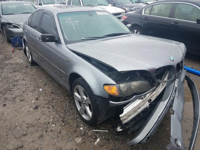 BMW salvage cars for sale: 2004 BMW 330 XI