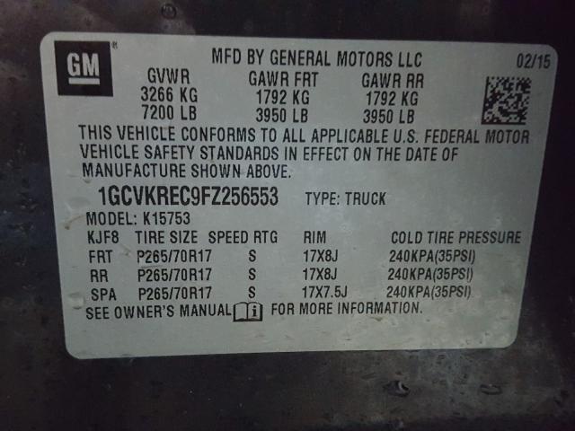 1GCVKREC9FZ256553