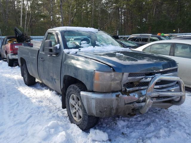 Salvage cars for sale from Copart Lyman, ME: 2012 Chevrolet Silverado