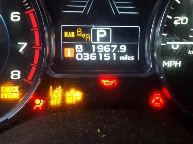 2017 Subaru FORESTER   Vin: JF2SJAWC0HH517892