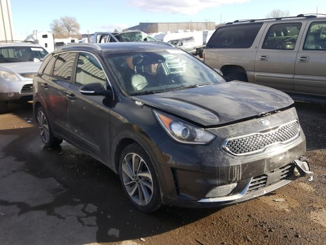 KIA salvage cars for sale: 2017 KIA Niro EX TO