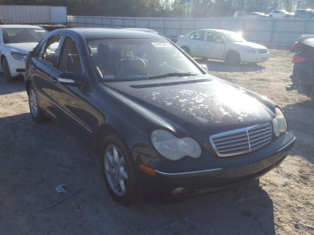 Mercedes-Benz C 320 salvage cars for sale: 2003 Mercedes-Benz C 320