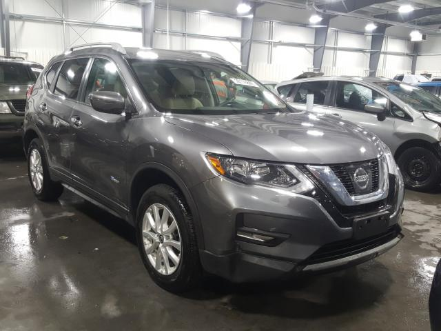 Nissan Rogue SV H salvage cars for sale: 2017 Nissan Rogue SV H