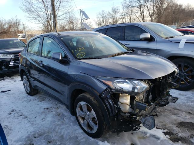 Salvage 2018 HONDA HR-V LX - Small image. Lot 28372240
