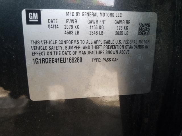 2014 Chevrolet  | Vin: 1G1RG6E41EU166280