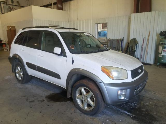 Salvage cars for sale from Copart Lufkin, TX: 2001 Toyota Rav4