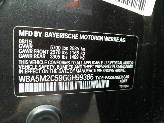 WBA5M2C59GGH99386