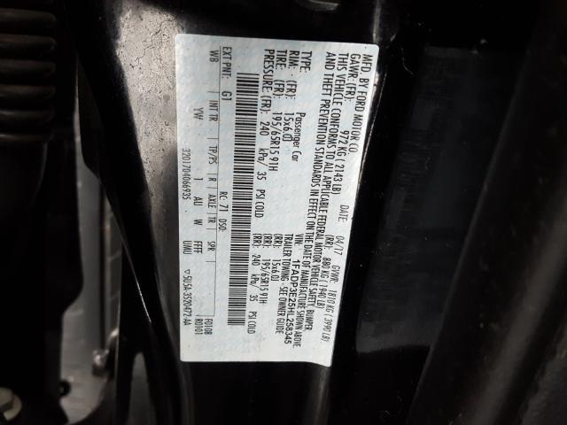 2017 Ford    Vin: 1FADP3E25HL258345