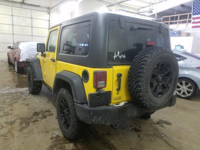 1C4AJWAG7FL576031 - 2015 Jeep Wrangler S 3.6L [Angle] View