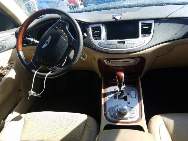 2012 Hyundai Genesis 4. 4.6L engine view