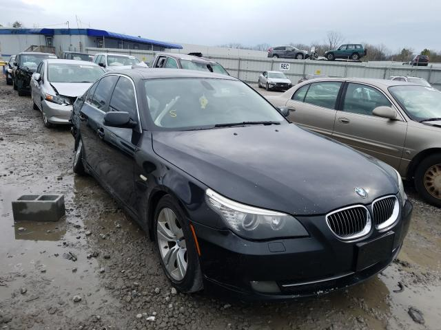 BMW salvage cars for sale: 2010 BMW 528 I