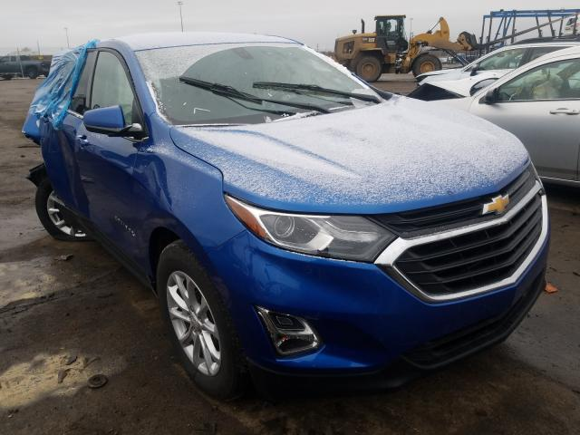 Chevrolet Equinox LT salvage cars for sale: 2019 Chevrolet Equinox LT