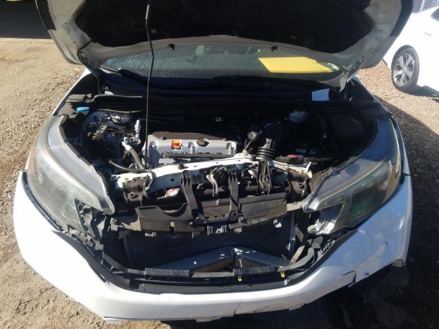 2013 Honda Cr-V Lx 2.4L inside view