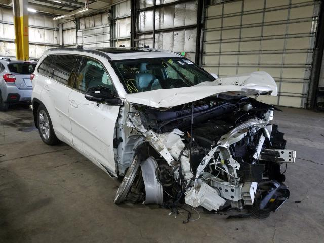 5TDDZRFH3HS435516 - 2017 Toyota Highlander 3.5L Left View