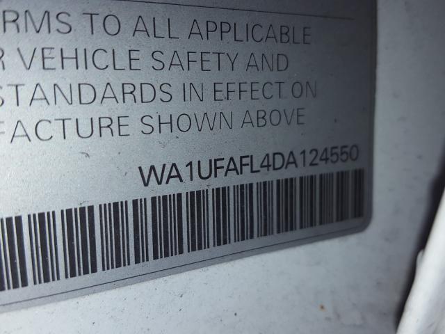 WA1UFAFL4DA124550