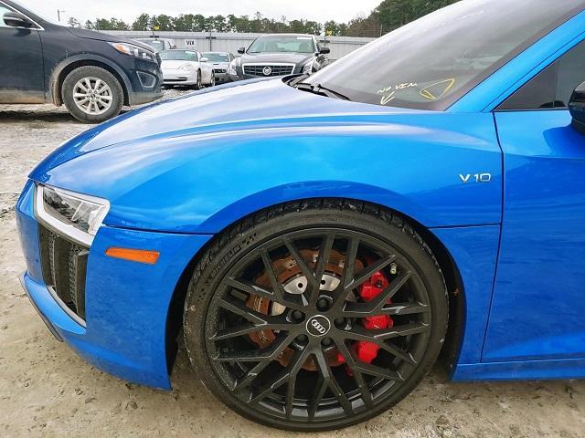 2018 Audi R8 | Vin: WUABAAFX1J7901843