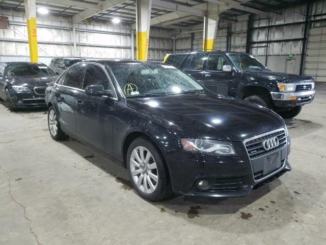 Salvage cars for sale from Copart Woodburn, OR: 2012 Audi A4 Premium