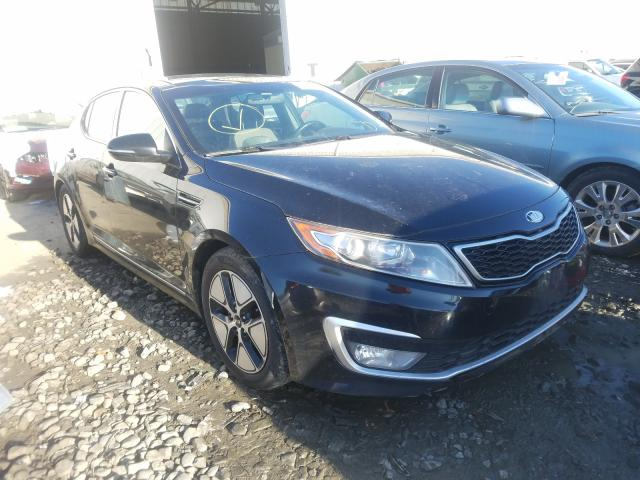 Salvage cars for sale from Copart Windsor, NJ: 2012 KIA Optima Hybrid