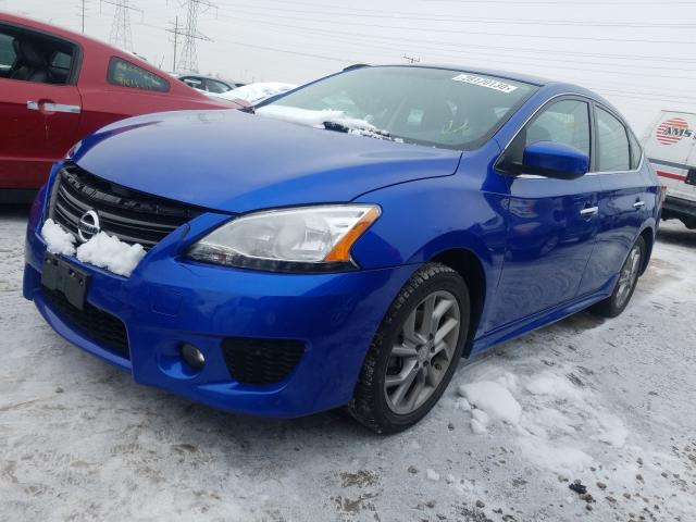 2014 NISSAN SENTRA S 3N1AB7APXEY245519