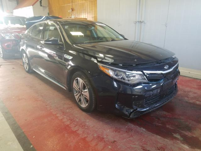 Salvage cars for sale from Copart Angola, NY: 2018 KIA Optima PLU