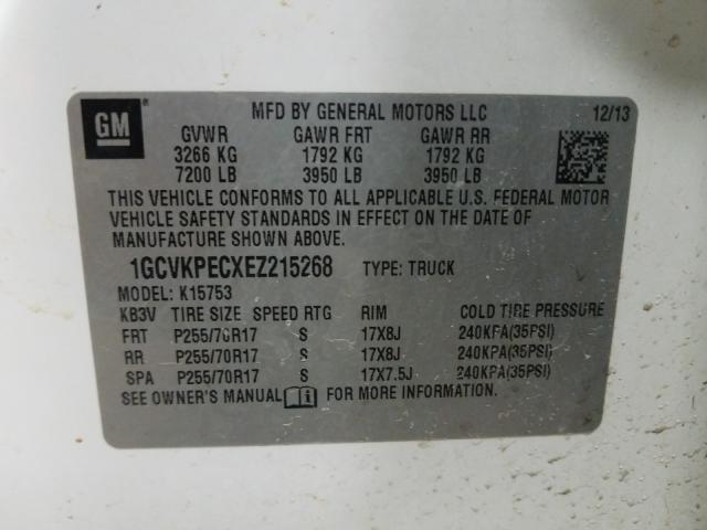 1GCVKPECXEZ215268