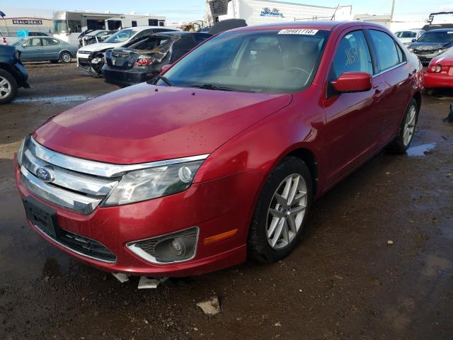 2012 Ford Fusion Sel 3.0L Right View