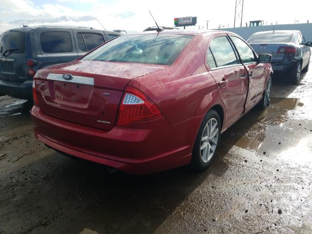 2012 Ford Fusion Sel 3.0L rear view