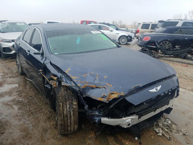 Salvage cars for sale at Bridgeton, MO auction: 2015 Hyundai Genesis 3