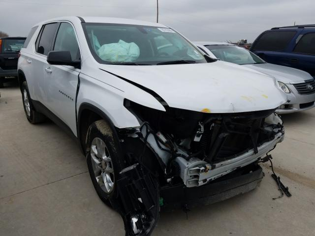 Salvage cars for sale from Copart Grand Prairie, TX: 2018 Chevrolet Traverse L