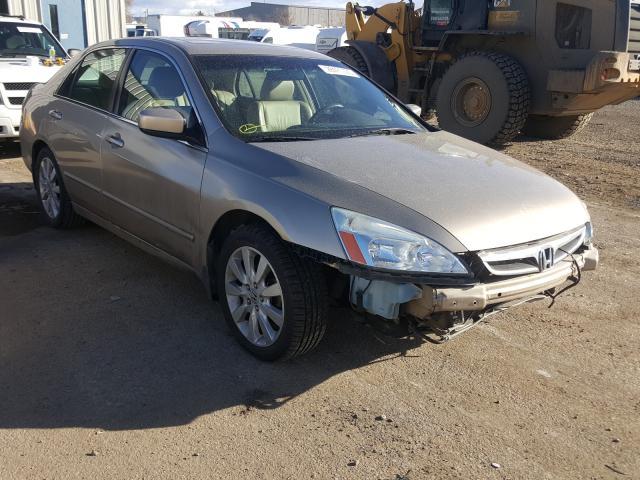1HGCM66537A007991 - 2007 Honda Accord Ex 3.0L Left View