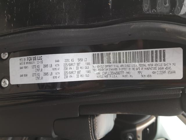 2017 Jeep    Vin: 1C4PJLCB5HW586777