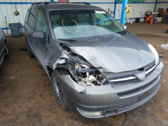 Toyota salvage cars for sale: 2004 Toyota Sienna XLE