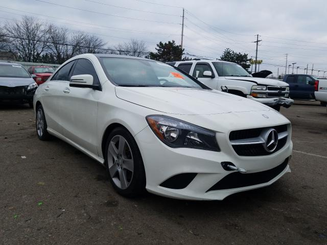 Salvage 2016 Mercedes-Benz CLA 250 4M for sale