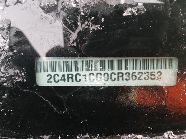 2C4RC1CG9CR362352 - 2012 Chrysler Town & Cou 3.6L