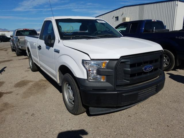 Salvage cars for sale from Copart Tucson, AZ: 2017 Ford F150
