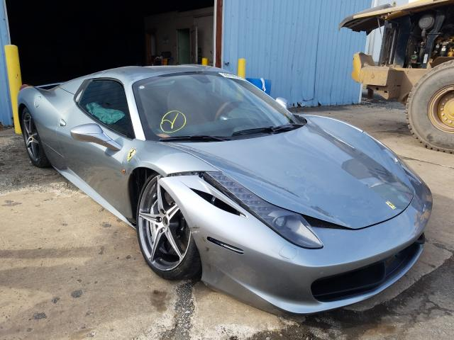 Ferrari 458 Spider salvage cars for sale: 2013 Ferrari 458 Spider