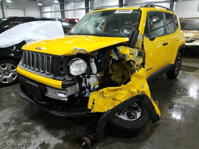2017 Jeep RENEGADE | Vin: ZACCJAAB4HPF02709