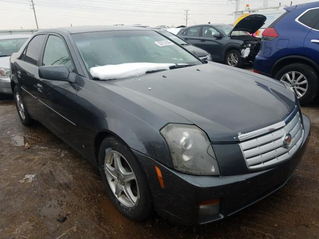 Salvage cars for sale from Copart Elgin, IL: 2007 Cadillac CTS